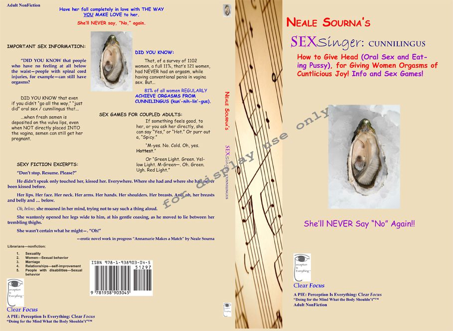 full book cover Neale Sourna'sSEXsinger: Cunnilingus